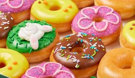 Mini Springtime Donuts