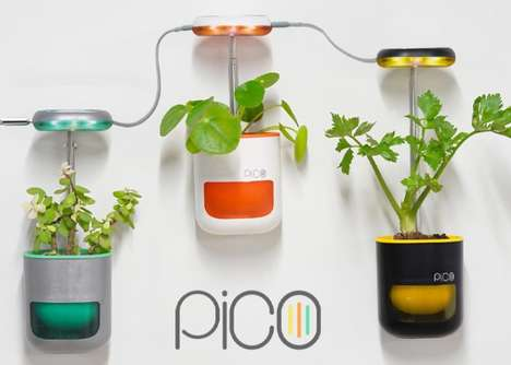 Ultra-Compact Indoor Garden Pods