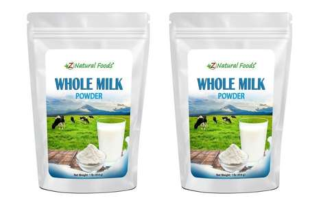 All-Natural Dairy Product Powders