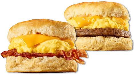Fresh-Made Breakfast Sandwiches