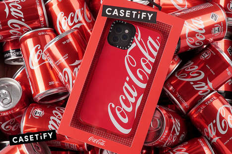 Soda-Inspired Phone Cases