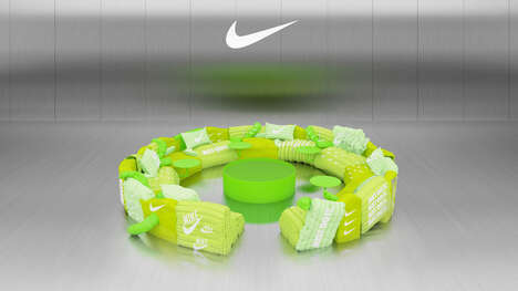 Neon Green Virtual Sofas