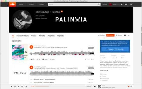Artist-Supporting Music Platforms