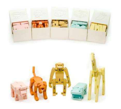 Cubic Animal Toys