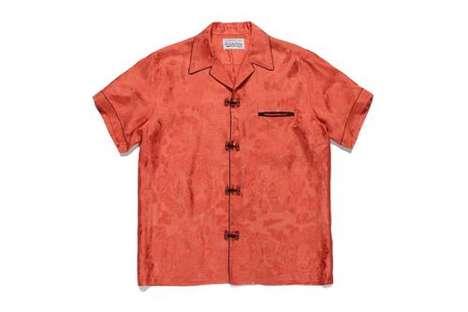 Mandarin-Style Hawaiian Shirts