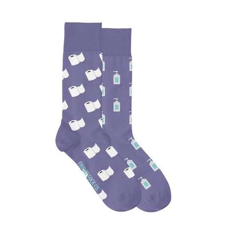 Charitable Pandemic-Themed Socks