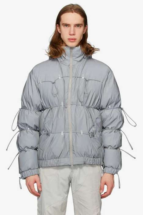 Puffy Cinched Down Jackets
