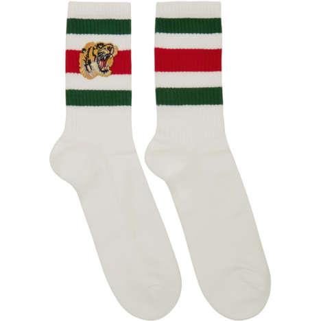 Luxury Tiger-Inspired Socks