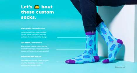 Sock Customization Services