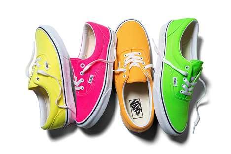 Vibrant Neon Sneakers