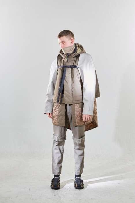 Layering Dramatic Outdoor Garments