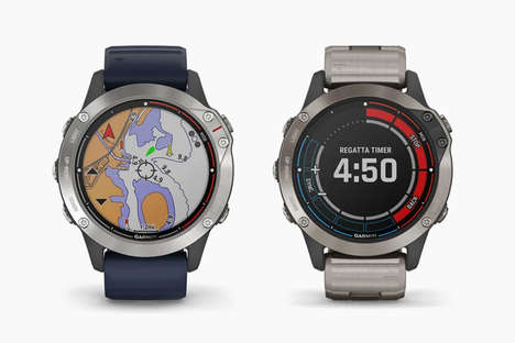 Boat-Controlling Smartwatches