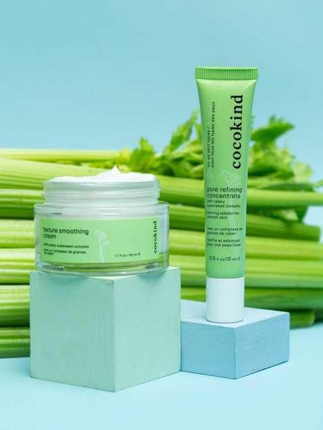 Celery-Based Skincare