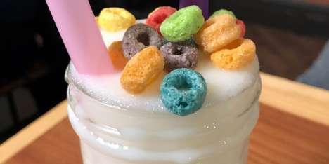 Fruity Cereal Slushies