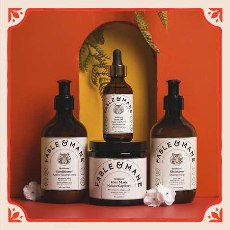 Plant-Based Ayurvedic Haircare