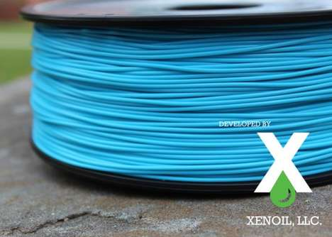 Recycled Plastic Printer Filaments