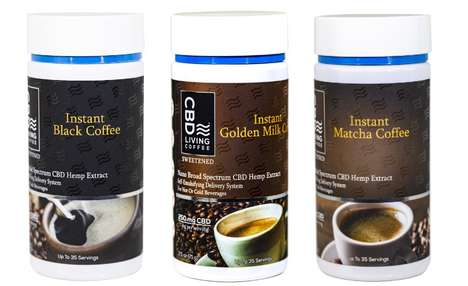 CBD-Enriched Instant Coffees