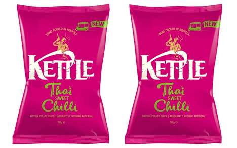 Cuisine-Inspired Chip Flavors