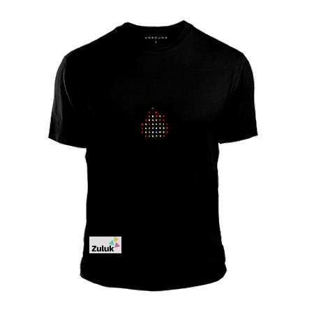 Programmable LED T-shirts