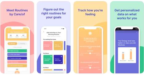 Personalized Wellness Routine Apps