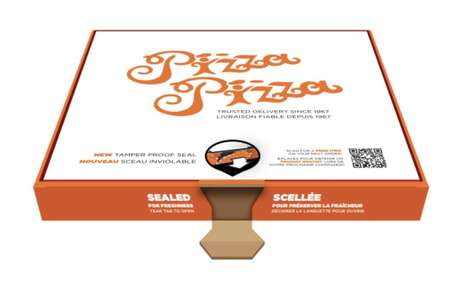 Tamper-Proof Pizza Boxes