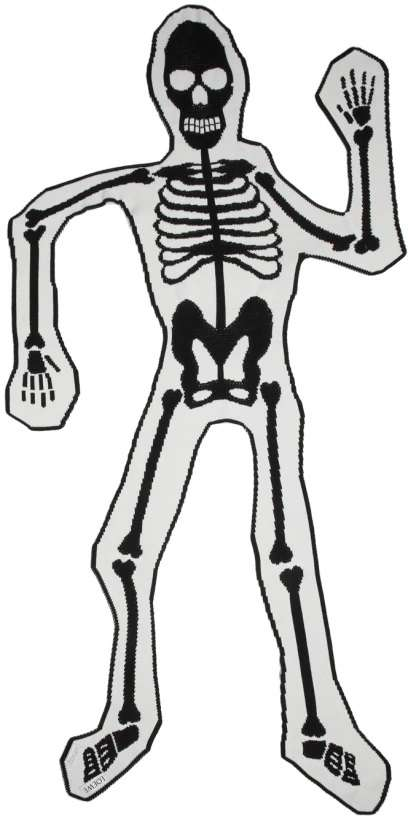 Oversized Skeleton Scarves