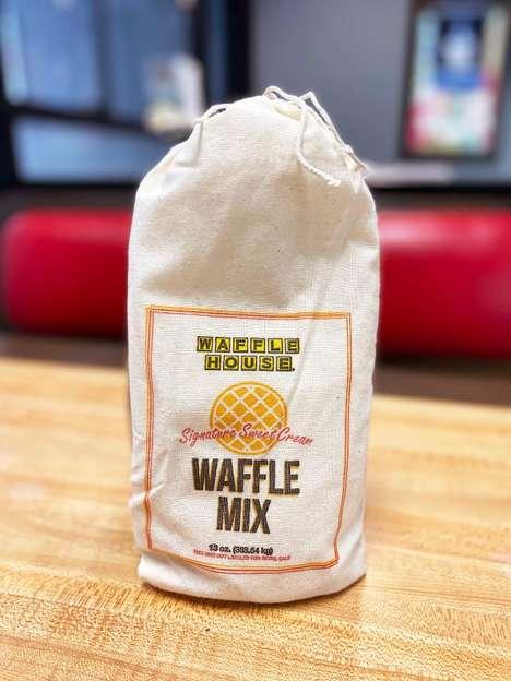 Sweet Cream Waffle Mixes