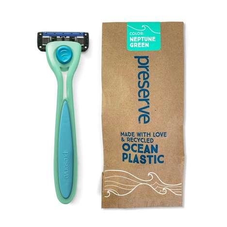 Ocean Plastic Razors