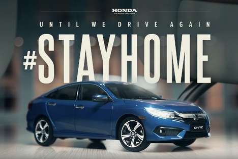 Stay-Home Car Commercials