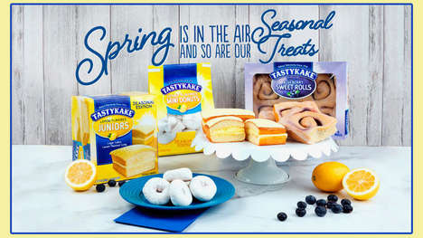 Springtime Snack Cake Collections