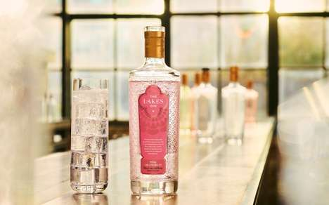 Zesty Pinkish Gin Spirits
