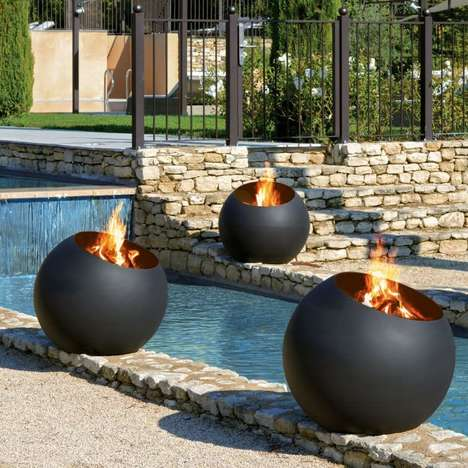 Chic Spherical Fire Pits