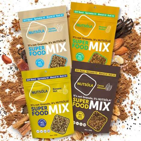Versatile Satisfying Superfood Mixes