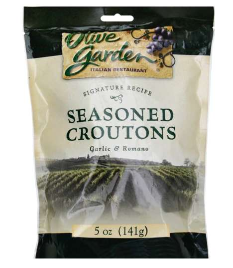 Restaurant-Branded Garlic Croutons
