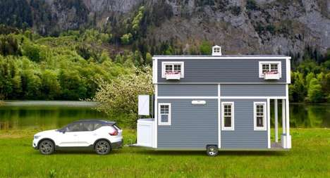Expandable Roof Tiny Homes