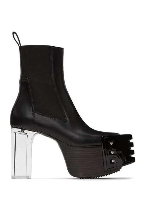 Dramatic Futuristic Boot Designs