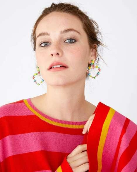 Playful Heart-Shaped Earrings