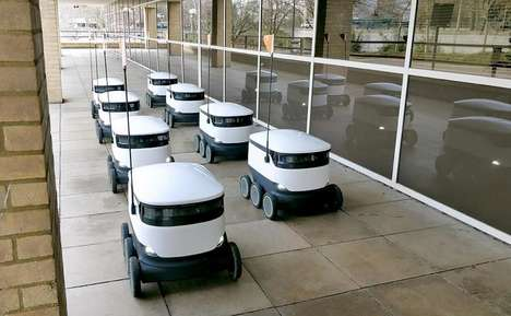 Contactless Delivery Robots