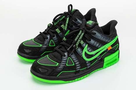 Dynamic Tonal Contrasting Sneakers