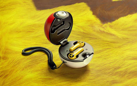 Anime-Inspired Earbud Cases