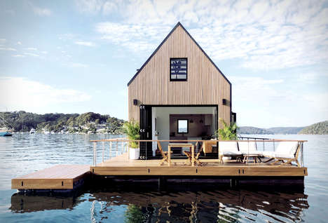Tranquil Floating Rental Cabins