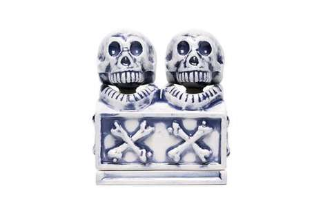 Skull-Themed Incense Chambers