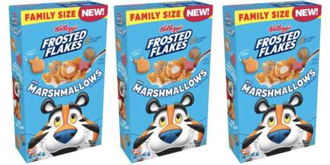 Marshmallow-Studded Corn Cereals