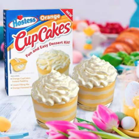 DIY Creamsicle Cupcake Kits