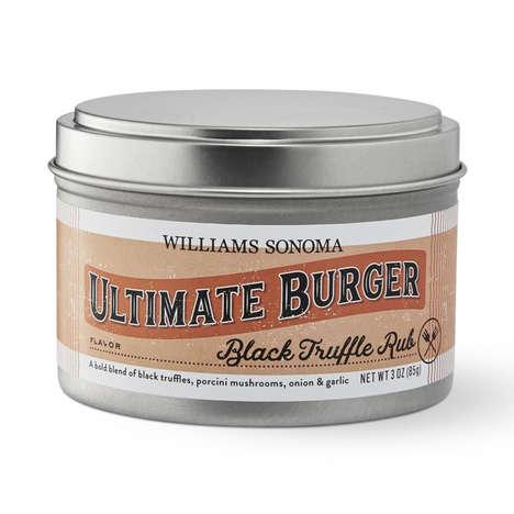 Luxury-Minded Burger Rubs