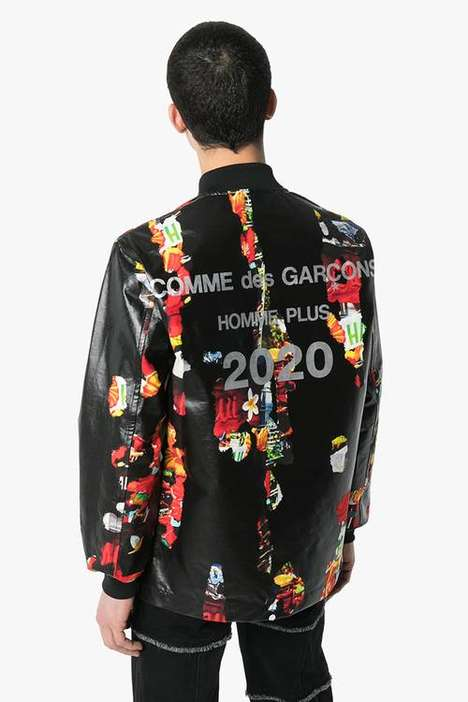 Floral-Detailed Eclectic Jackets
