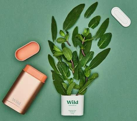 Refillable Natural Deodorants