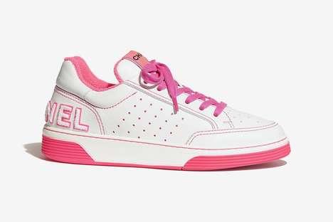 Spring Tonal Luxe Sneakers
