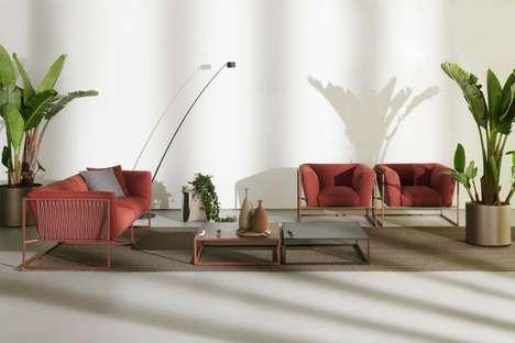 Haute Harp-Inspired Furniture