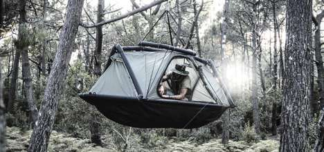 Inflatable Exoskeleton Tents